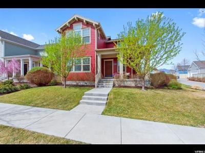 South Jordan Single Family Home For Sale: 10606 S Indigo Sky Way