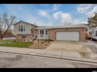 West Jordan Single Family Home For Sale: 5415 W Ticklegrass Rd