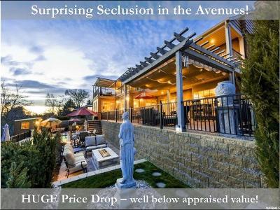 Salt Lake City Single Family Home For Sale: 1230 E Eleventh Ave