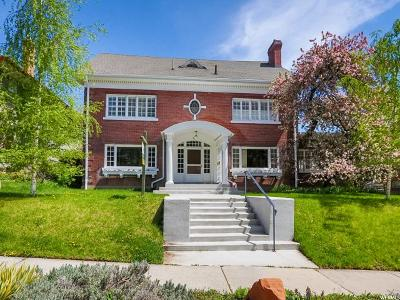 Salt Lake City Single Family Home For Sale: 58 N Virginia St