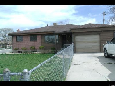 West Valley City Single Family Home For Sale: 3649 S 5725 W