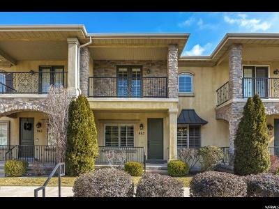 Orem Townhouse For Sale: 957 N 920 W