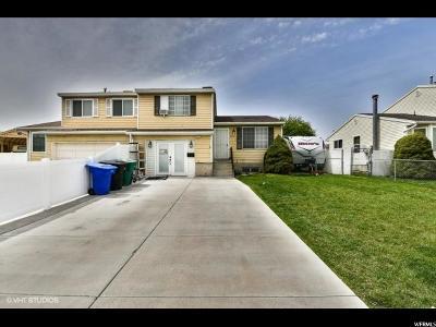 West Jordan Single Family Home For Sale: 8820 S Oak Ln