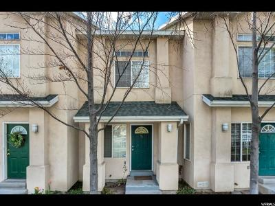 Salt Lake City Townhouse For Sale: 475 N Redwood Rd W #11