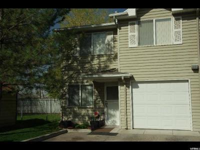 Salt Lake City Townhouse For Sale: 3490 S 200 E