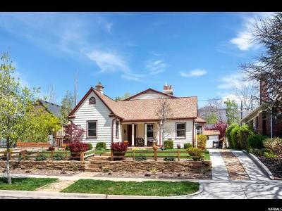 Salt Lake City Single Family Home For Sale: 1545 S 1400 E