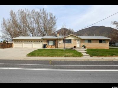 Mapleton Single Family Home For Sale: 520 W 1600 N