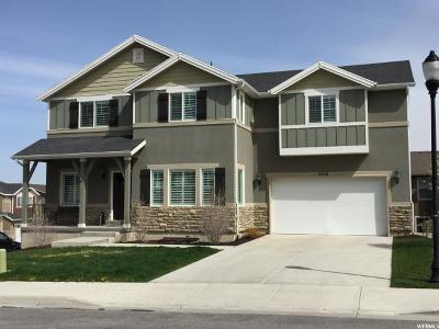 Herriman Single Family Home For Sale: 5258 W Hedgerose Dr S