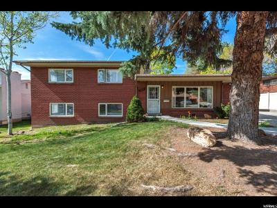 Holladay Single Family Home For Sale: 2815 E Maurice Dr S
