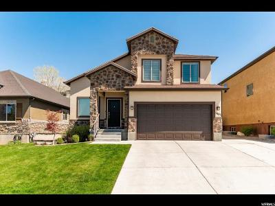 South Jordan Single Family Home For Sale: 11107 S Cadbury Dr