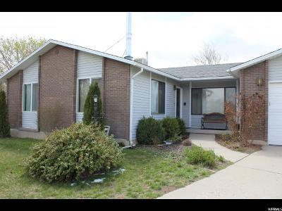 South Jordan Single Family Home For Sale: 10146 S Thyme Cir