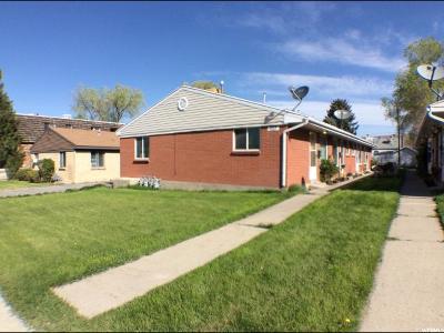 Salt Lake City Multi Family Home For Sale: 457 E Warnock Ave S