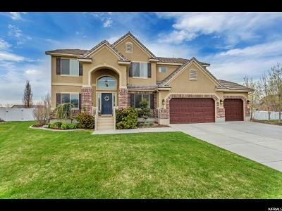 Kaysville Single Family Home For Sale: 268 W Barley Ln