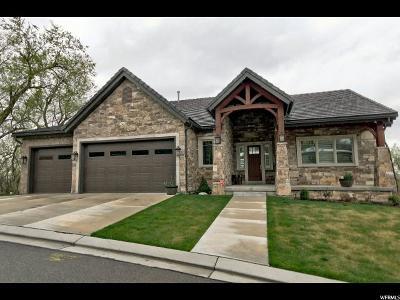 Salt Lake City Single Family Home For Sale: 3918 S Woodline Dr E