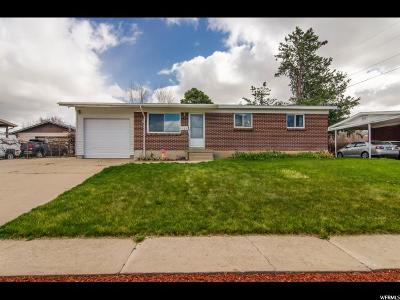 Layton Single Family Home For Sale: 186 N Green Dr E