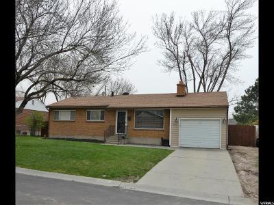 Sandy Single Family Home For Sale: 9888 S Sunflower E