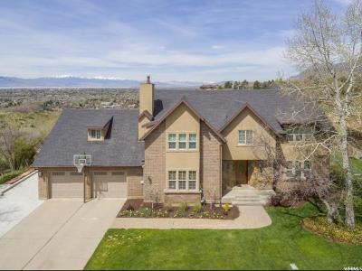 Provo Single Family Home For Sale: 4023 N Quail Ridge Dr