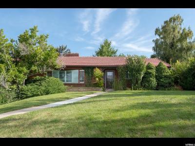 Salt Lake City Single Family Home For Sale: 2561 E 1700 S