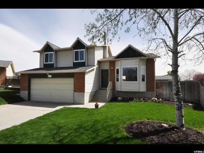 West Jordan Single Family Home For Sale: 6641 S Coleus Ct W