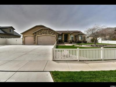 West Jordan Single Family Home For Sale: 9324 S Wisteria Way