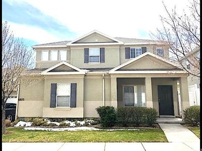 West Jordan Single Family Home For Sale: 6853 W Tupelo Ln S