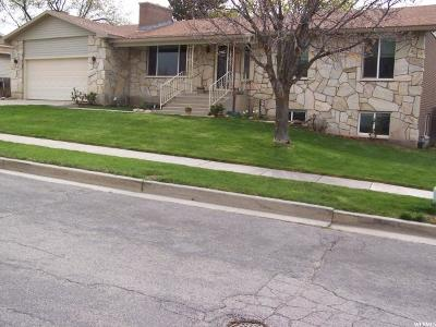 Cottonwood Heights UT Single Family Home For Sale: $365,000