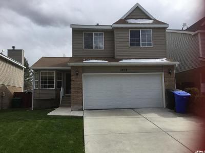West Jordan Single Family Home For Sale: 1479 W Little Creek Dr S