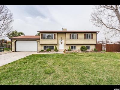 West Jordan Single Family Home For Sale: 1540 W 8295 S