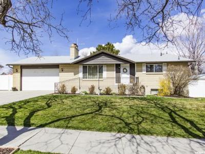 Taylorsville Single Family Home For Sale: 2968 W 5685 S