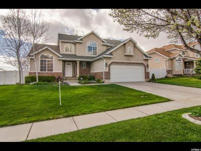 Layton Single Family Home For Sale: 2619 N 1100