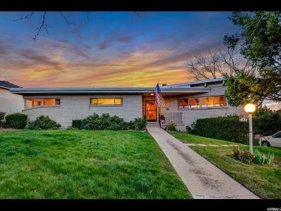 Salt Lake City Single Family Home For Sale: 658 E Seventeenth Ave
