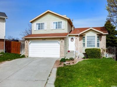 West Jordan Single Family Home For Sale: 3986 W 8660 S