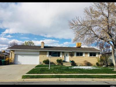 Sandy Single Family Home For Sale: 781 E Sheraton Cir S