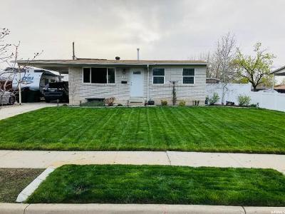 Murray Single Family Home For Sale: 5812 S 590 W