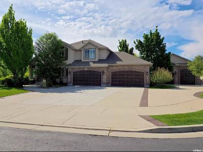 South Jordan Single Family Home For Sale: 2291 W Gallant Fox Ct S