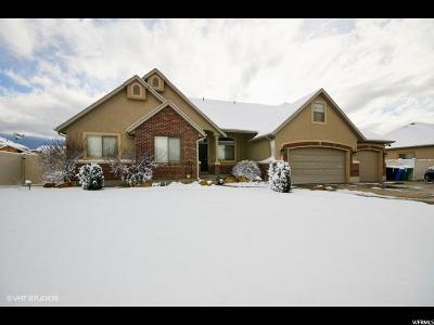 West Jordan Single Family Home For Sale: 9173 S Mountain Iris Way