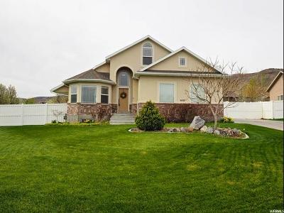Herriman Single Family Home For Sale: 5437 W Moss Rose Ct