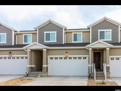 Herriman Townhouse For Sale: 14544 S Quiet Shade Dr