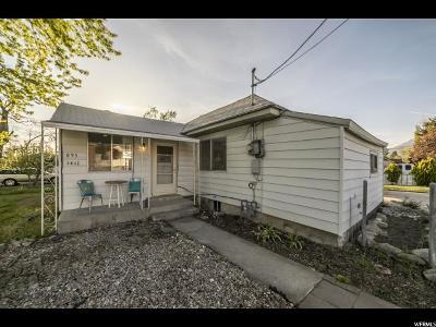 Orem Single Family Home For Sale: 895 E 800 S