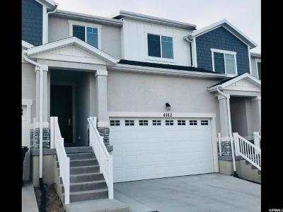 Herriman Townhouse For Sale: 4162 W River Shade Ln