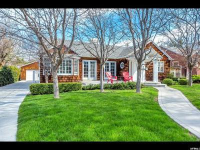 Salt Lake City Single Family Home For Sale: 1961 E Herbert Ave