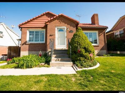 Salt Lake City Single Family Home For Sale: 21 E 500 N