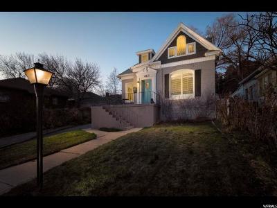 Salt Lake City Single Family Home For Sale: 663 E Eighth Ave N