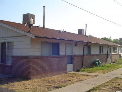 Salt Lake City Multi Family Home For Sale: 1619 S 1000 W