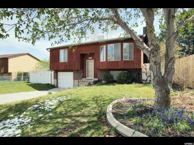 Taylorsville Single Family Home For Sale: 5481 S 3570 W