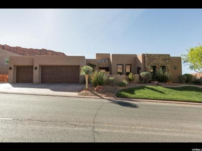 St. George Single Family Home For Sale: 3052 N Snow Canyon Pkwy #63