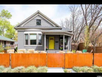 Salt Lake City Single Family Home For Sale: 667 E 900 S