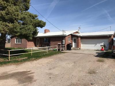 Preston Single Family Home For Sale: 592 W 8th N