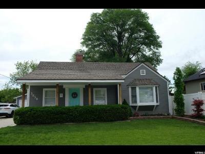 Salt Lake City Single Family Home For Sale: 3050 S 2300 E