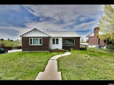 Salt Lake City Single Family Home For Sale: 3000 S 2900 E